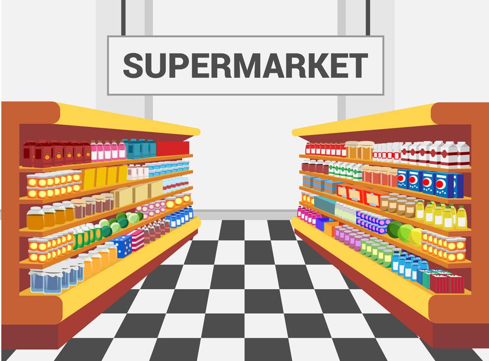 Μαζικά μηνύματα για σούπερ μάρκετ